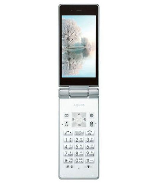 AQUOS ケータイ 501SH(ホワイト)