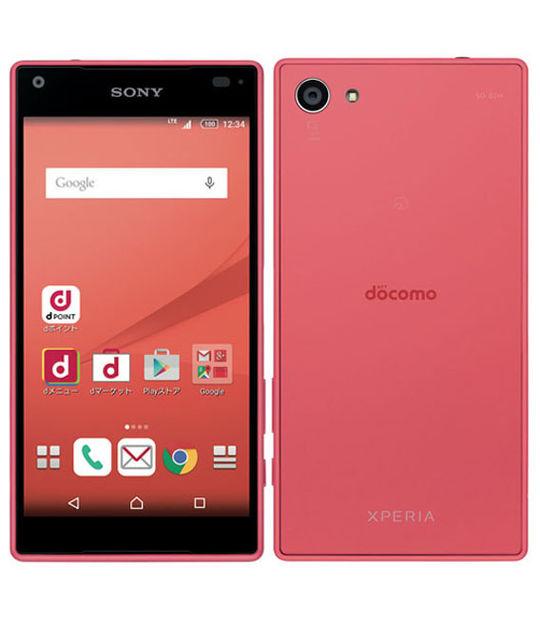 【中古】【安心保証】 docomo Mobile Xperia Z5 Compact SO-02H