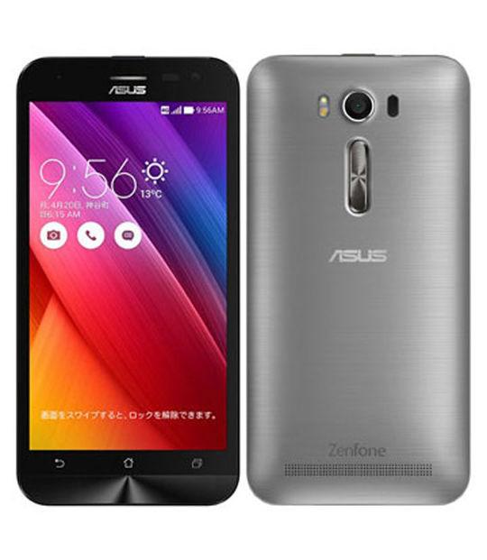 【中古】【安心保証】 SIMフリー ZenFone2Laser[16G] グレー