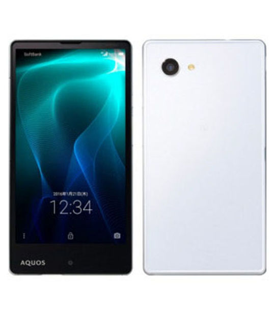 【中古】【安心保証】 SoftBank AQUOS Xx2 mini 503SH ホワイト