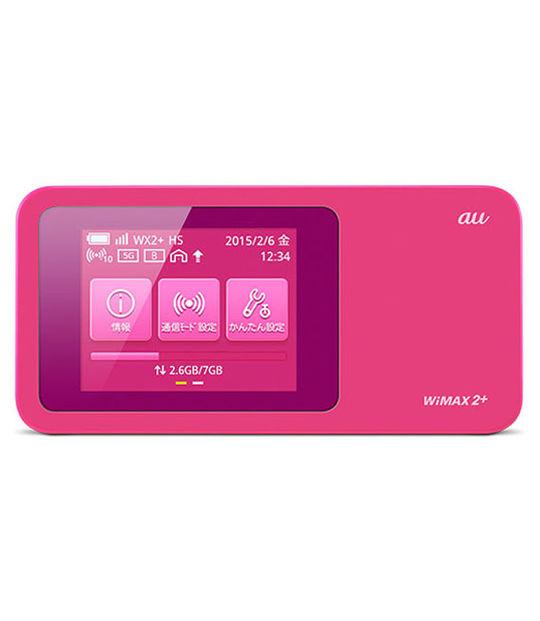 【中古】【安心保証】 au Speed Wi-Fi NEXT W01 HWD31