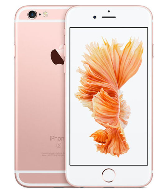 【中古】【安心保証】 docomo iPhone6s[128G] ローズゴールド