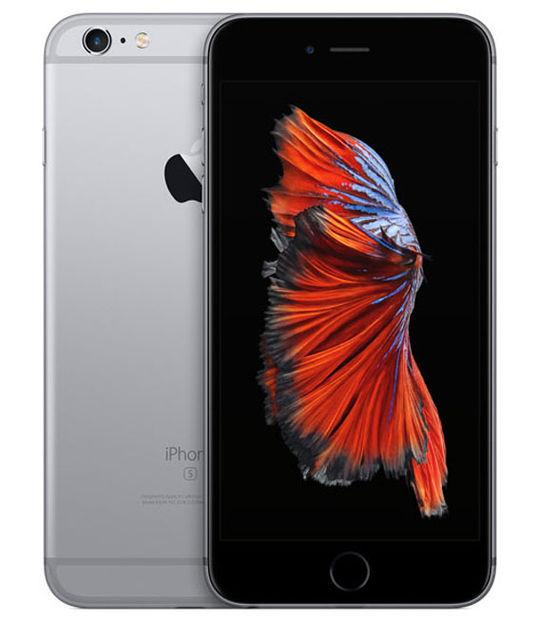 【中古】【安心保証】 au iPhone6sPlus 64GB スペースグレイ SIMロック解除済