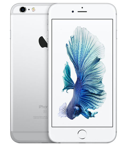 【中古】【安心保証】 au iPhone6sPlus 64GB シルバー SIMロック解除済