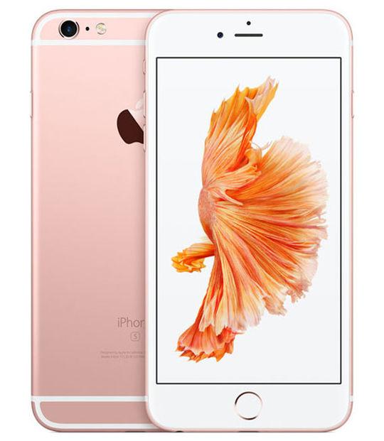 【中古】【安心保証】 au iPhone6sPlus 128GB ローズゴールド SIMロック解除済