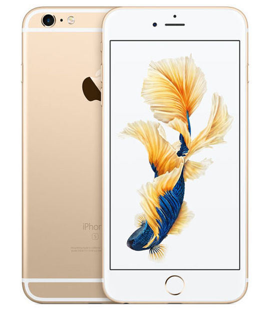 【中古】【安心保証】 SoftBank iPhone6sPlus[128G] ゴールド