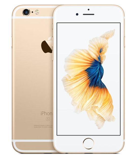 【中古】【安心保証】 au iPhone6s[16G] ゴールド