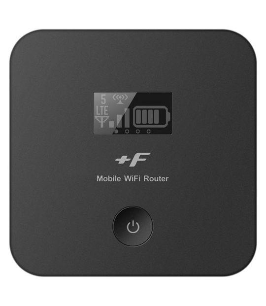 【中古】【安心保証】 SIMフリー +F FS020W ブラック