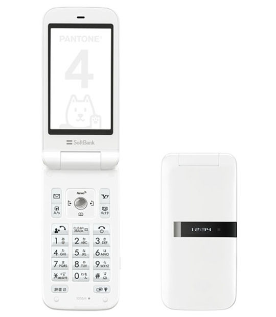 【中古】【安心保証】 SoftBank 105SH ホワイト