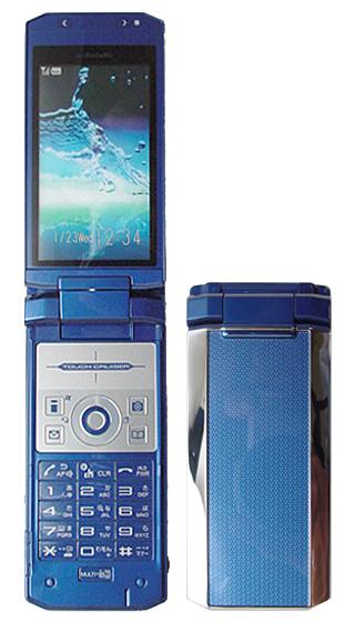 【中古】【安心保証】 docomo SH905i ブルー