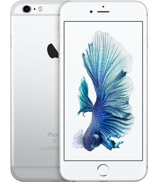 【中古】【安心保証】 au iPhone6sPlus[128G] シルバー SIMロック解除済