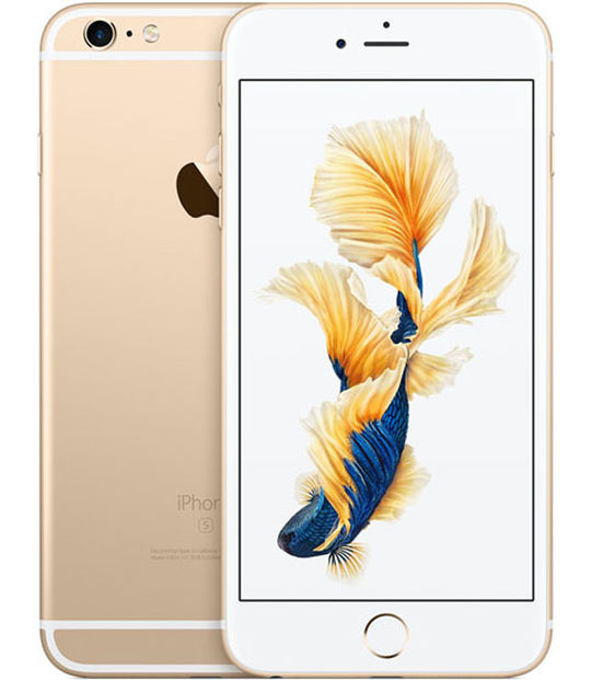 【中古】【安心保証】 SIMフリー iPhone6sPlus[64G] ゴールド