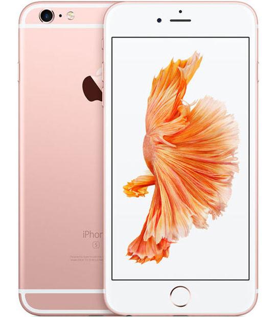 【中古】【安心保証】 au iPhone6sPlus 64GB ローズゴールド SIMロック解除済