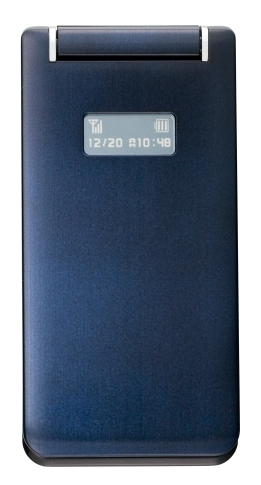 【中古】【安心保証】 SoftBank 814T ネイビー