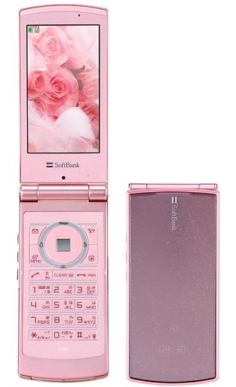 【中古】【安心保証】 SoftBank 930N ロマンスピンク