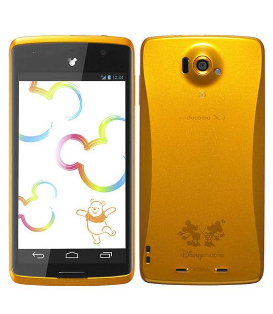 Disney Mobile on docomo N-03E(オレンジ)