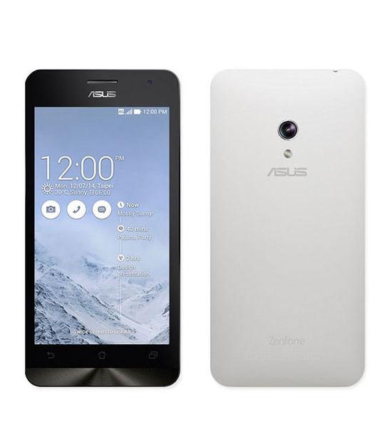 【中古】【安心保証】 SIMフリー ZenFone5_2014[8G] ホワイト