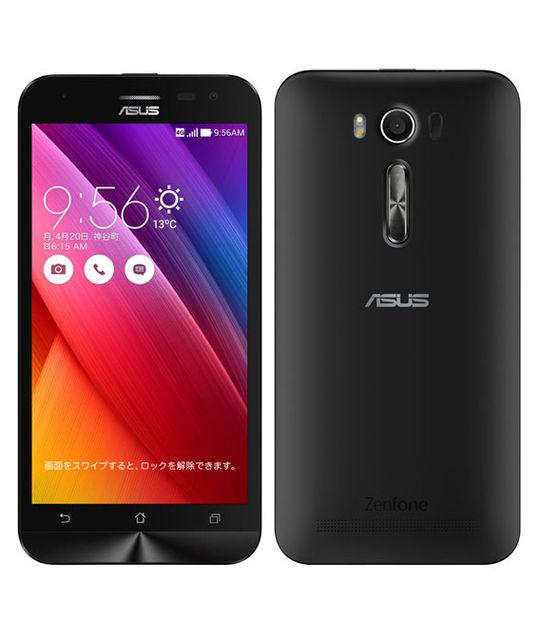 【中古】【安心保証】 SIMフリー ZenFone2Laser[16G] ブラック
