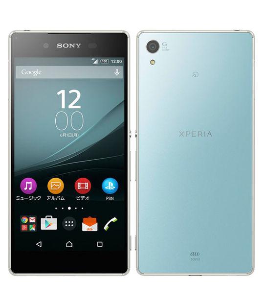 【中古】【安心保証】 au Mobile Xperia Z4 SOV31 SIMロック解除済