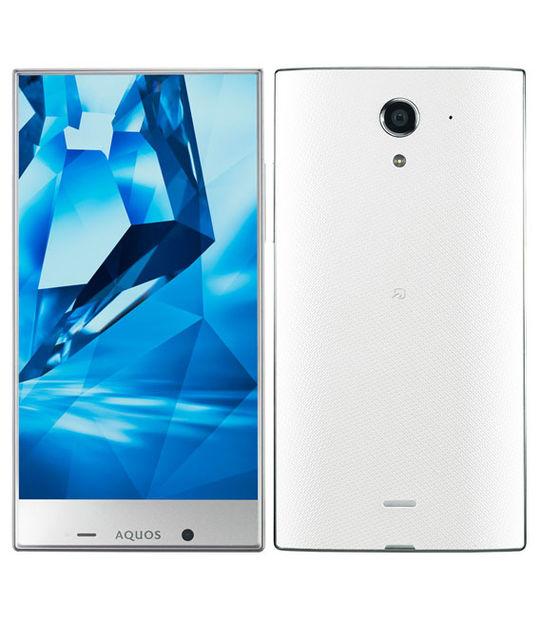【中古】【安心保証】 Y!mobile 402SH ホワイト