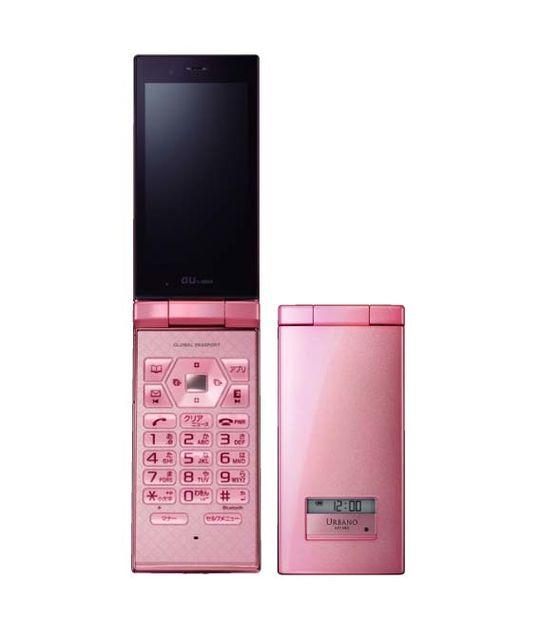 【中古】【安心保証】 au Mobile URBANO AFFARE SOY05