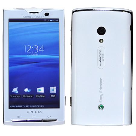 【中古】【安心保証】 docomo Mobile Xperia SO-01B