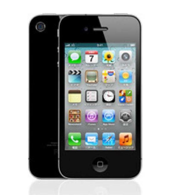 【中古】【安心保証】 SoftBank iPhone4[8G] ブラック