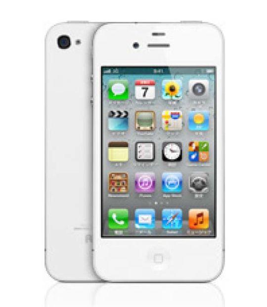 【中古】【安心保証】 SoftBank iPhone4[8G] ホワイト