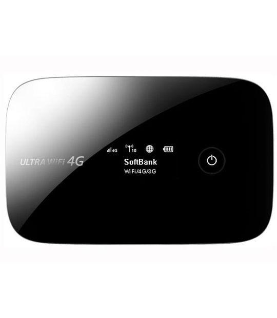 【中古】【安心保証】 SoftBank モバイルデータ通信 URTRA WiFi 4G 102HW