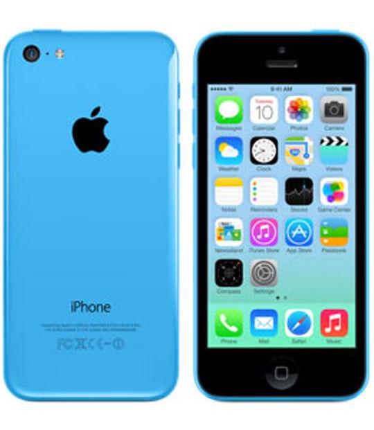 【中古】【安心保証】 SoftBank iPhone5c[16GB-s] ブルー