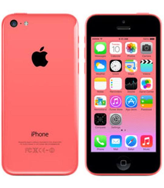 【中古】【安心保証】 au iPhone5c[32G] ピンク
