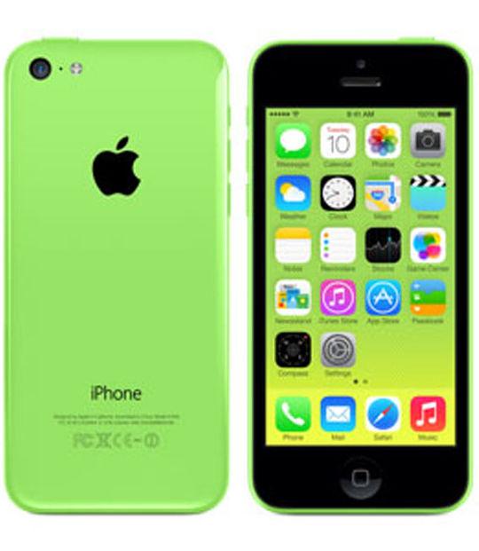 【中古】【安心保証】 docomo iPhone5c[16GB-d] グリーン