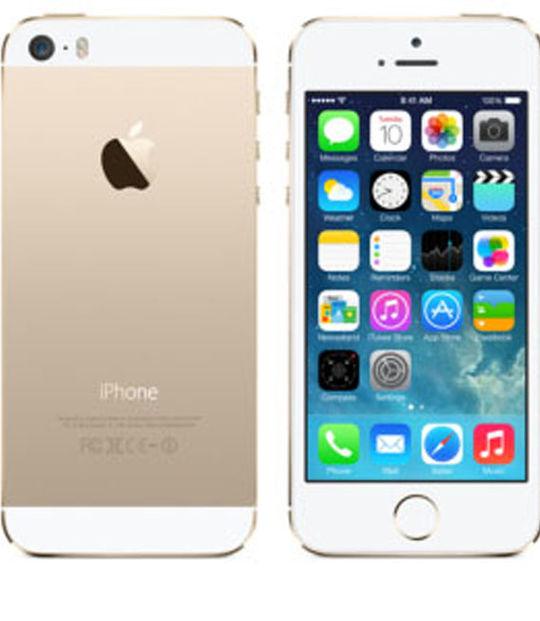 【中古】【安心保証】 au iPhone5s[16GB-a] ゴールド