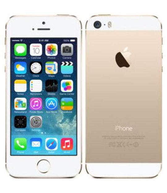 【中古】【安心保証】 SIMフリー iPhone5s[32G] ゴールド