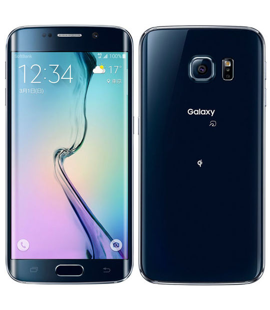 【中古】【安心保証】 SoftBank GALAXY S6 edge 404SC 32GB
