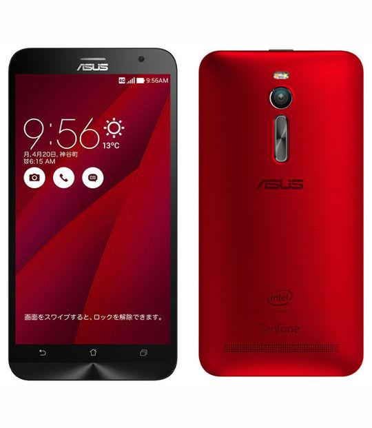 【中古】【安心保証】 SIMフリー ZenFone2[32GB4GB] アカ