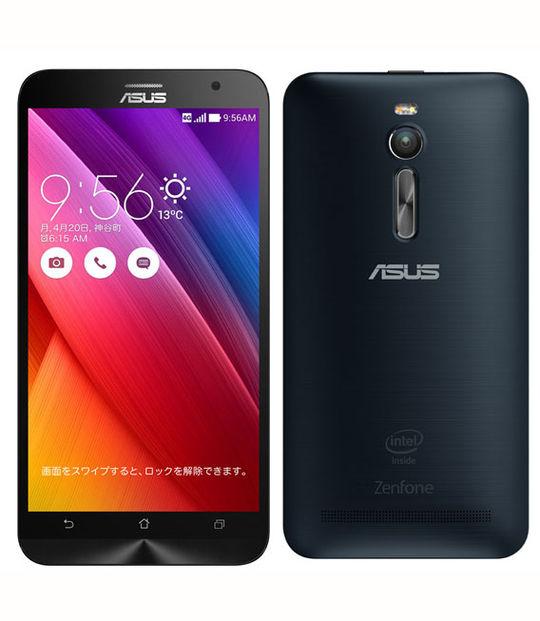 【中古】【安心保証】 SIMフリー ZenFone2[32GB2GB] ブラック