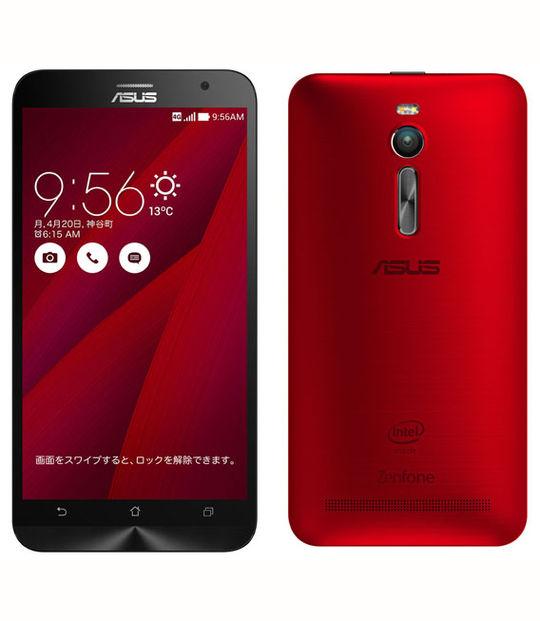 【中古】【安心保証】 SIMフリー ZenFone2[32GB2GB] レッド