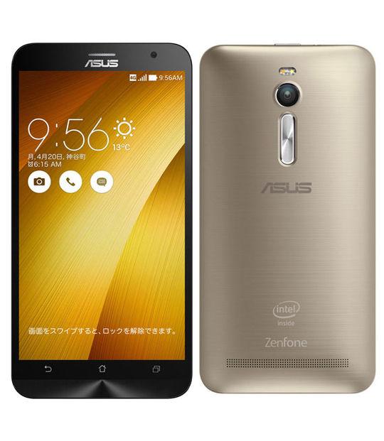 【中古】【安心保証】 SIMフリー ZenFone2[32GB2GB] ゴールド