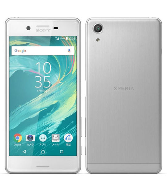 【中古】【安心保証】 SoftBank XperiaXPerformance502SO ホワイト