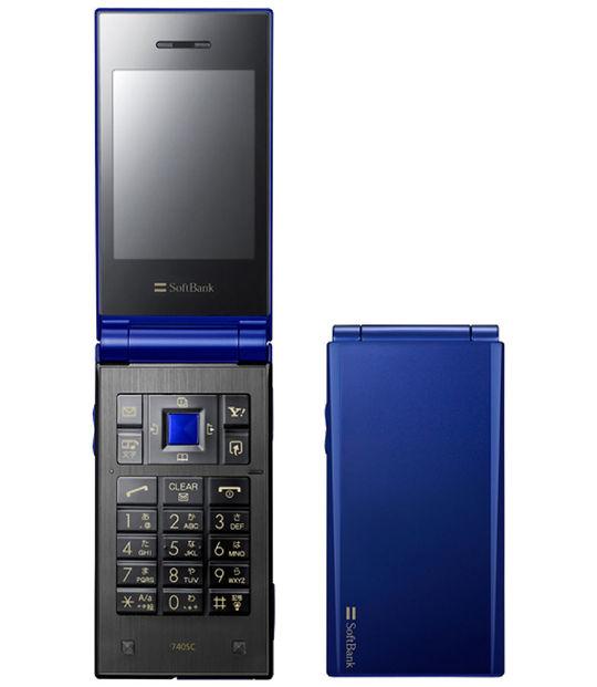 【中古】【安心保証】 SoftBank 740SC ブルー