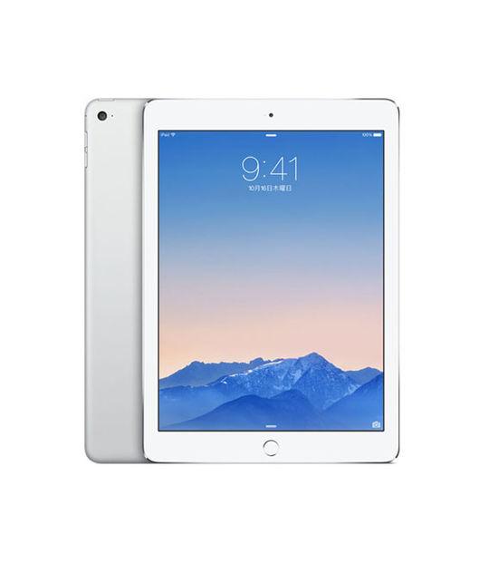 【中古】【安心保証】 au iPadAir2_6[4G16GB] シルバー