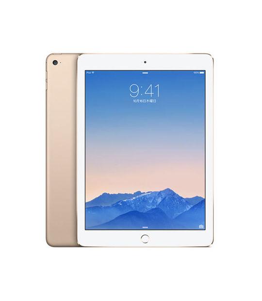 【中古】【安心保証】 au iPadAir_2[4G16GB] ゴールド