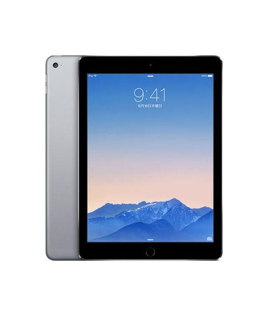 【中古】【安心保証】 au iPadAir 2[4G64G] グレイ