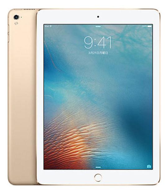 【中古】【安心保証】 docomo iPadPro 1ー9.7[セルラー128G] ゴールド