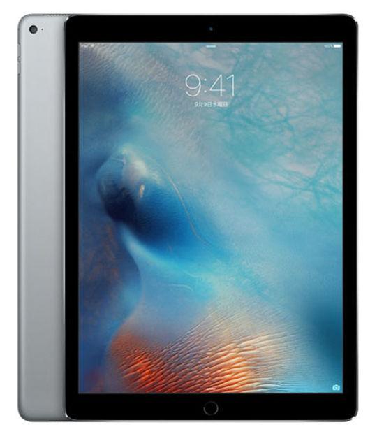 【中古】【安心保証】 au iPadPro 1ー9.7[セルラー128G] グレイ