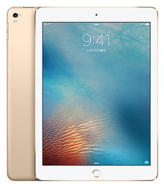 【中古】【安心保証】 au iPadPro 1ー9.7[セルラー256G] ゴールド