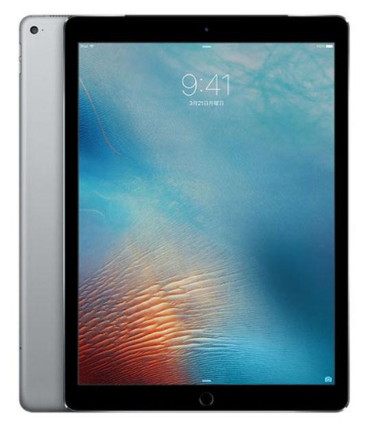【中古】【安心保証】 SoftBank iPadPro 1ー12.9[セルラー256G] グレイ