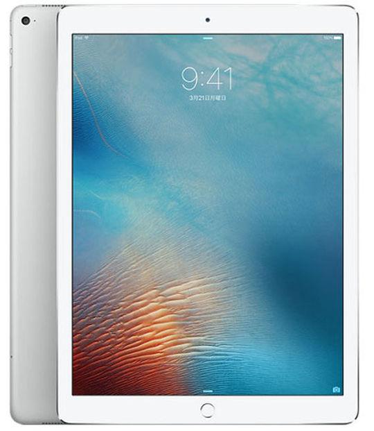 【中古】【安心保証】 SoftBank 12.9iPadPro_1[セルラー256G] シルバー