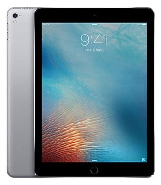 【中古】【安心保証】 SoftBank iPadPro 1ー9.7[セルラー32G] グレイ